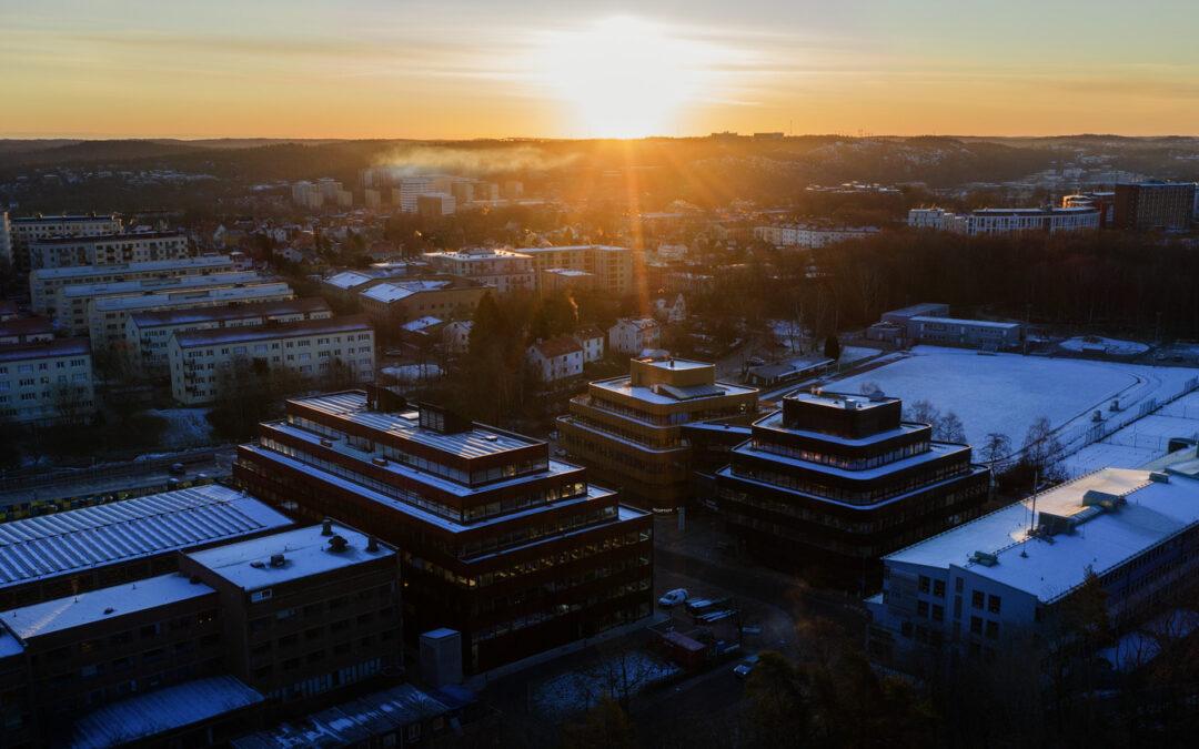 Akademiska hus' buildings at Chalmers Campus Johanneberg